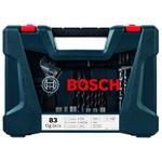 Kit Acessórios V-Line Azul Com 83 Peças - Bosch