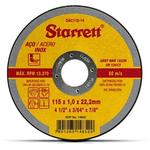 Disco De Corte Abrasivo 115mm x 1,0mm x 22,2mm - Starrett