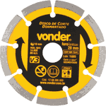 Disco Diamantado 110mm V3 Importado – Vonder