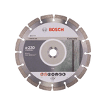 Disco Diamantado Segmentado 9' 230mm x 22,23mm - Bosch