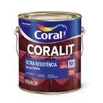 Esmalte Sintético Coralit Fosco Preto 3,6L