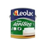 TINTA ACRÍLICO FOSCO ECON. COR PRETO 3,6L
