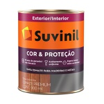 Esmalte Sintético Fosco Suvinil Cor Preto 900ml