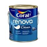 Tinta Acrilica Fosco Creme Coral Renova 3,2L