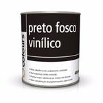 Tinta Cor Preto Fosco Vinilico Maxi Rubber (S/cat) 600ml
