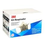 Kit Filtros Para Respirador 6200 REF 6000/04 3M