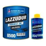 Verniz 8500 Bi-comp. C/cat.054 Kit 900 ml Lazzuril