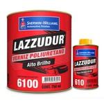 Verniz 6100 Pu Rapido C/cat 900 ml Lazzuril
