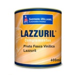 Preto Fosco Vinilico S/cat. 600ml Lazzuril
