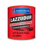 Jet Black Ral 9005 Pu 675ml Lazzudur