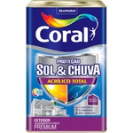 Sol e Chuva Acrílico Total 18L - Coral