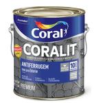 Coralit Antiferrugem Ferrolack Cinza 3,6 L