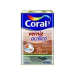 Verniz Acrílico Incolor Coral 18l