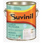 Tinta Acrílica Acetinado Família Protegida Suvinil 3,6 Litros