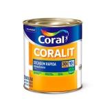 Coralit Balance Secagem Rápida Acetinado Cor Branco 900ml - Coral