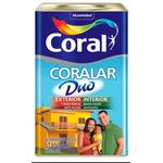 TINTA ACRÍLICO FOSCO CORALAR DUO COR VERDE VALE 18L CORAL