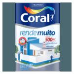 TINTA ACRÍLICA FOSCO RENDE MUITO COR AZUL SERENO 18L CORAL