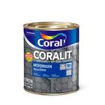 CORALIT ANTIFERRUGEM FERROLACK COR VERMELHO 900ML