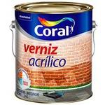 Verniz Acrilico Incolor Coral 3,6l