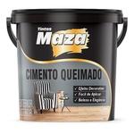 Cimento Queimado Maza cor Cinza Balde 25kg