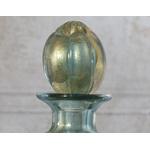 Garrafa com ouro P Aqua claro