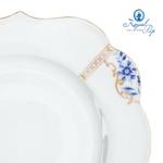 Prato de Jantar florido - Royal White