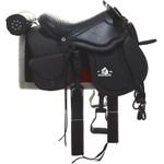 Sela Australiana Cavalgada Impacto com Cabeça