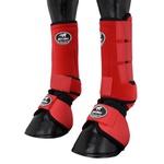 Conjunto Caneleira e Cloche Vermelho - Boots Horse