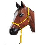 Cabresto 7 Nós p/ Cavalo em Nylon c/ Guia Laranja - Cavalaria