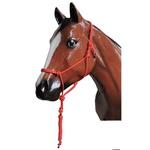 Cabresto 7 Nós p/ Cavalo em Nylon c/ Guia Vermelho - Cavalaria