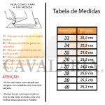 Bota Cano Curto Feminina Couro - Cavalaria® 3461PT