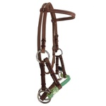 Cabeçada Side Pull de Couro Boots Horse