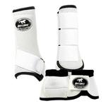 Conjunto Caneleira e Cloche Branco - Boots Horse
