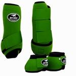Conjunto Caneleira e Cloche Verde - Boots Horse