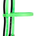 Cabeçada fabricada em Borracha Verde Limão - Weaver Leather
