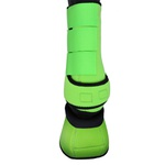 Conjunto Caneleira e Cloche Verde Limão - Boots Horse