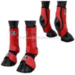 Kit Proteção Vermelho Completo Skid Boots - Boots Horse