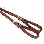 Rédea para Cavalo Trançada de Corda e Ponteiras em Couro Boots Horse