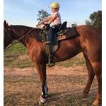 Suporte de Sela Infantil - Boots Horse