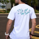 Camiseta Splash - Branco