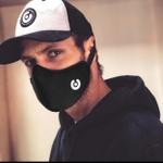 Kit 3 Máscara Anatômica Ninja Style - Preto