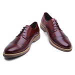 Sapato Derby em Couro
