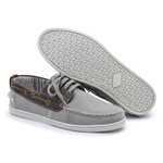 Sapato Dockside em Lona Menfis