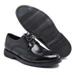 Sapato Brogue Tamanho Especial em Couro
