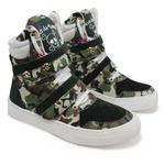 Tênis Sneaker Fitness Feminino Camuflado