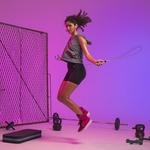 Botinha Fitness Feminina Rosa Fúcsia e Preto