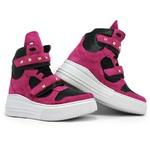 Tênis Sneaker Crossfit Rosa Pink com Preto