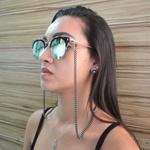 Cordinha de Óculos Corrente Finy Grafite *
