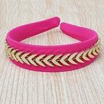 Tiara Setas Pink