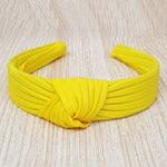 Tiara Canelado Amarelo